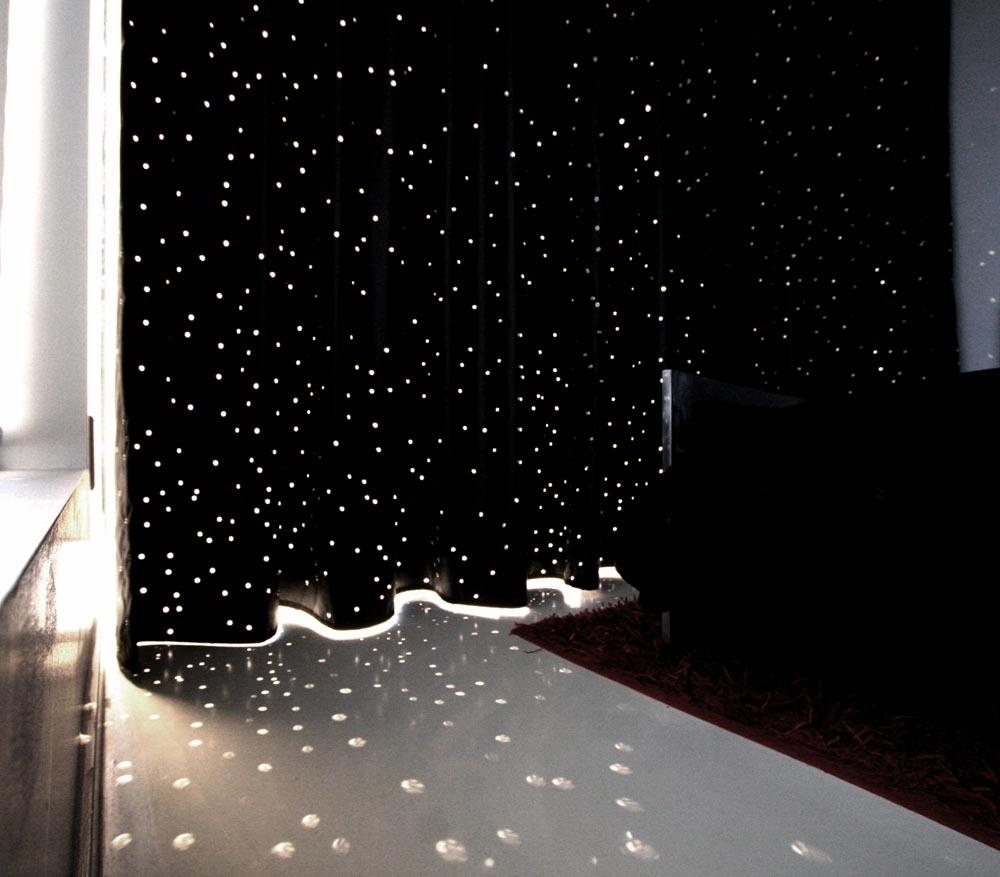 Grommet Constellation Points Of Light Curtain Otaku