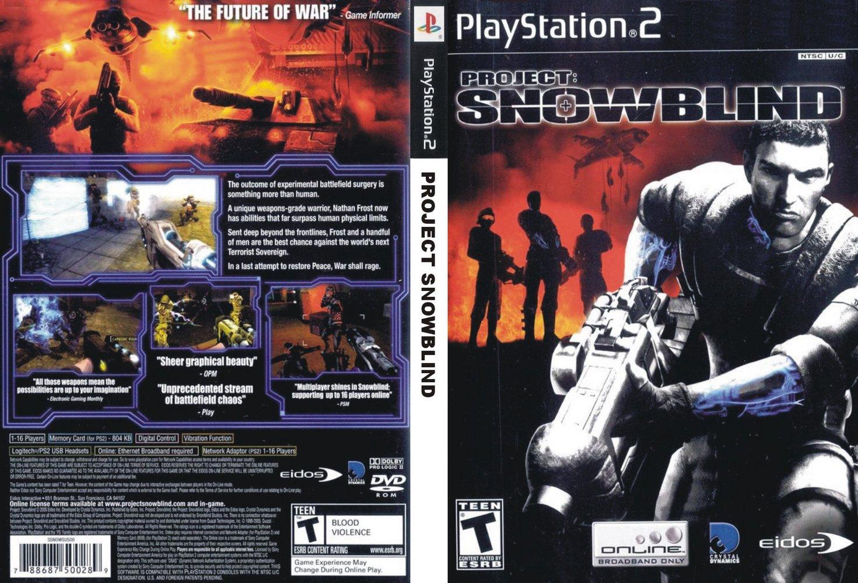 jogo ps2 project snowblind
