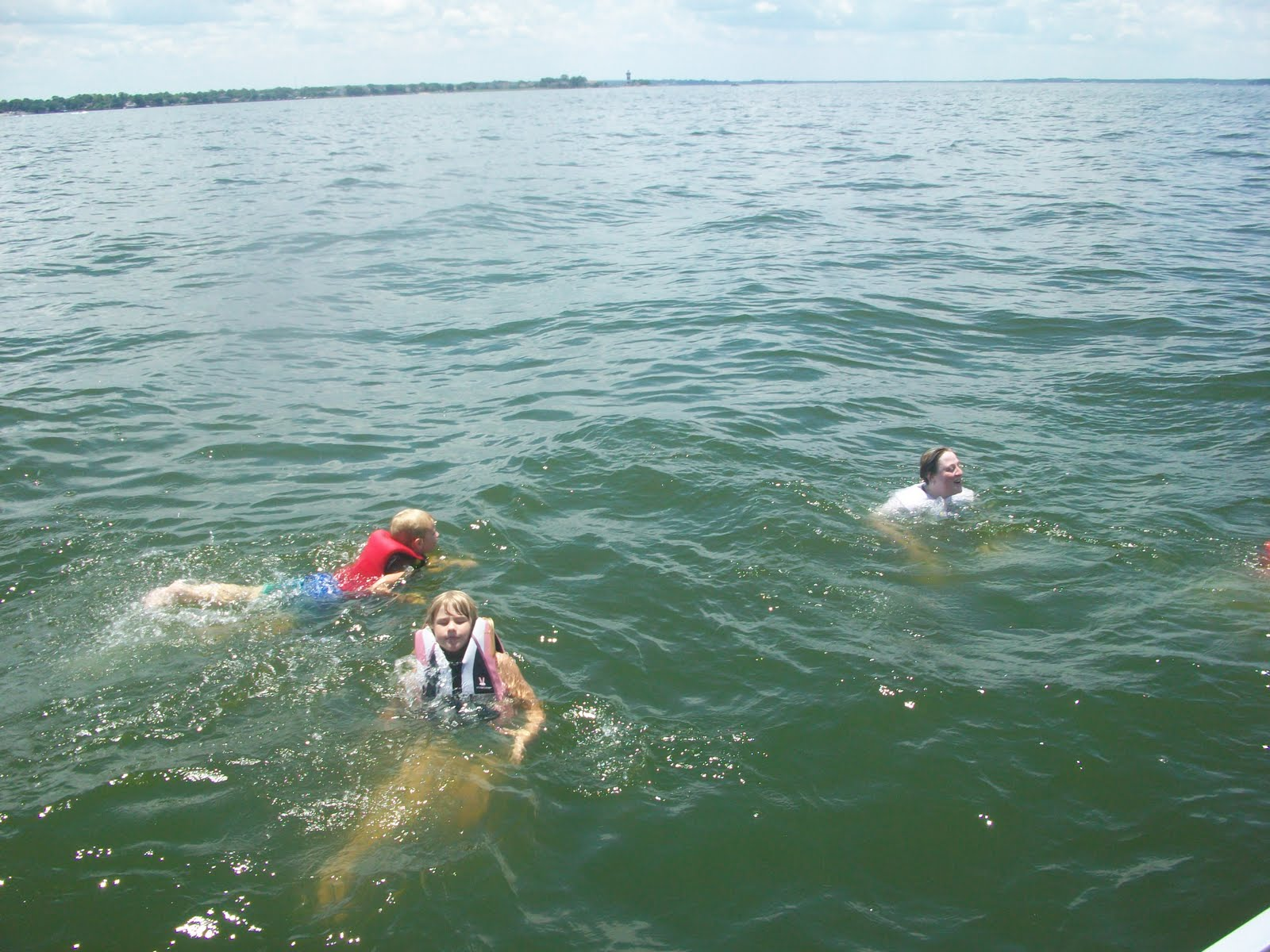 Hurry up and Hope! Sorry no brass ring ... | Our Journeys |Lake Conroe Swimming