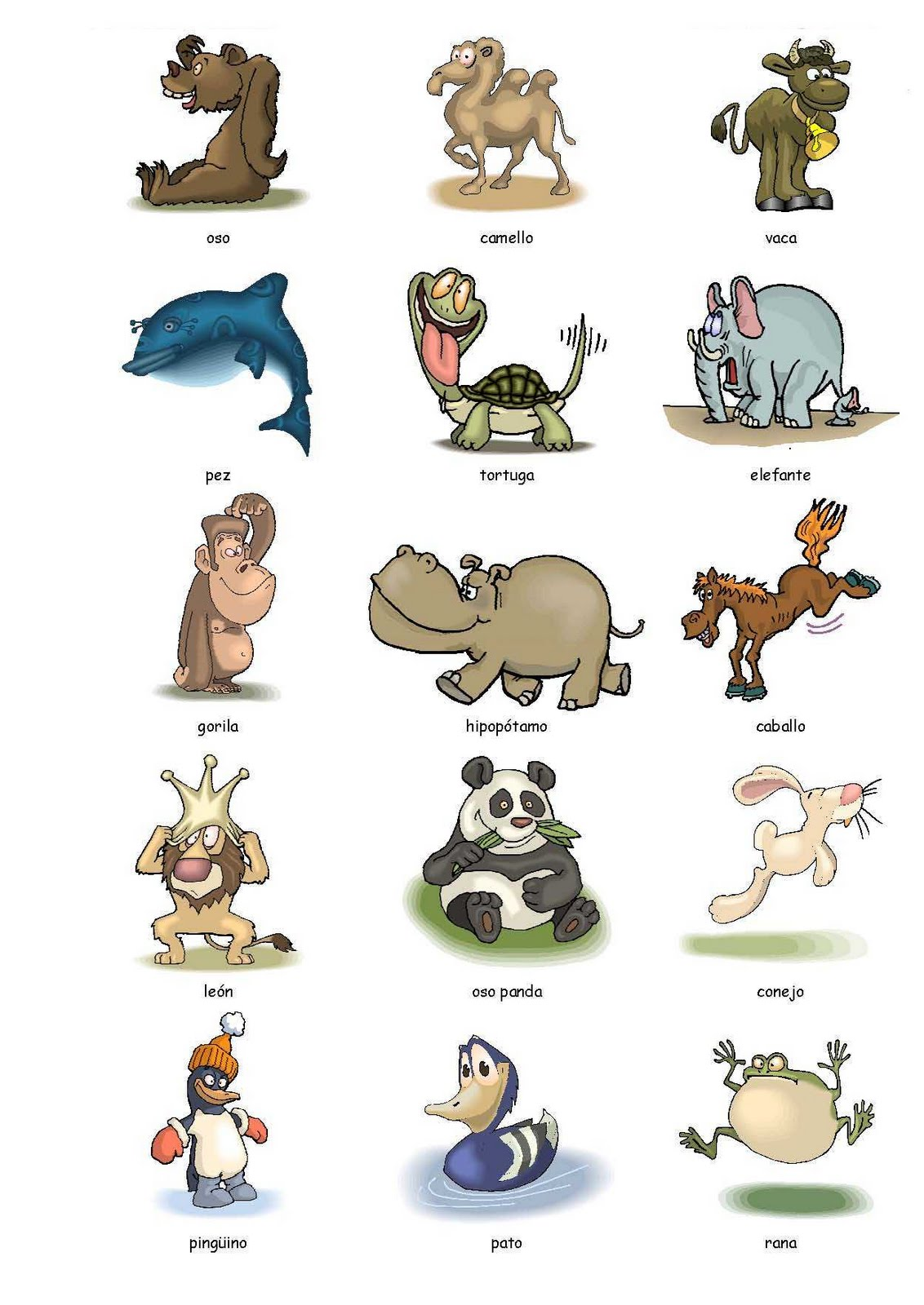 Wild Animals Worksheet Kindergarten