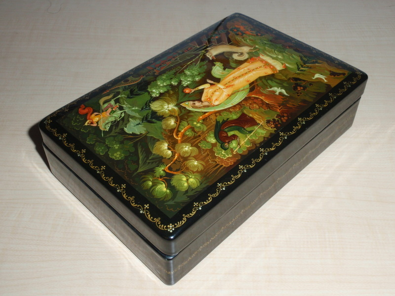 Unbelievable Russian Lacquer Boxes From 110