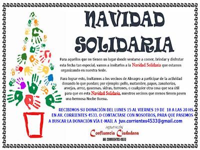 Mensajes de navidad solidarios