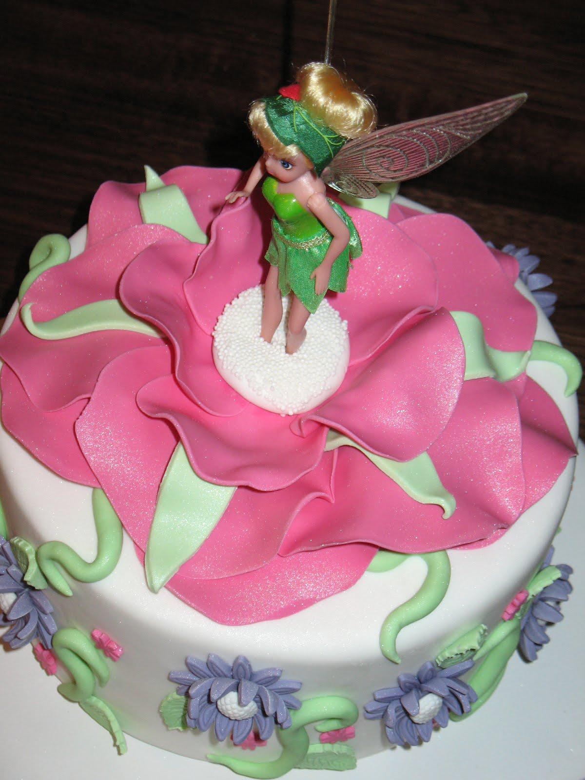 Sandy S Cakes Tinkerbell Cake