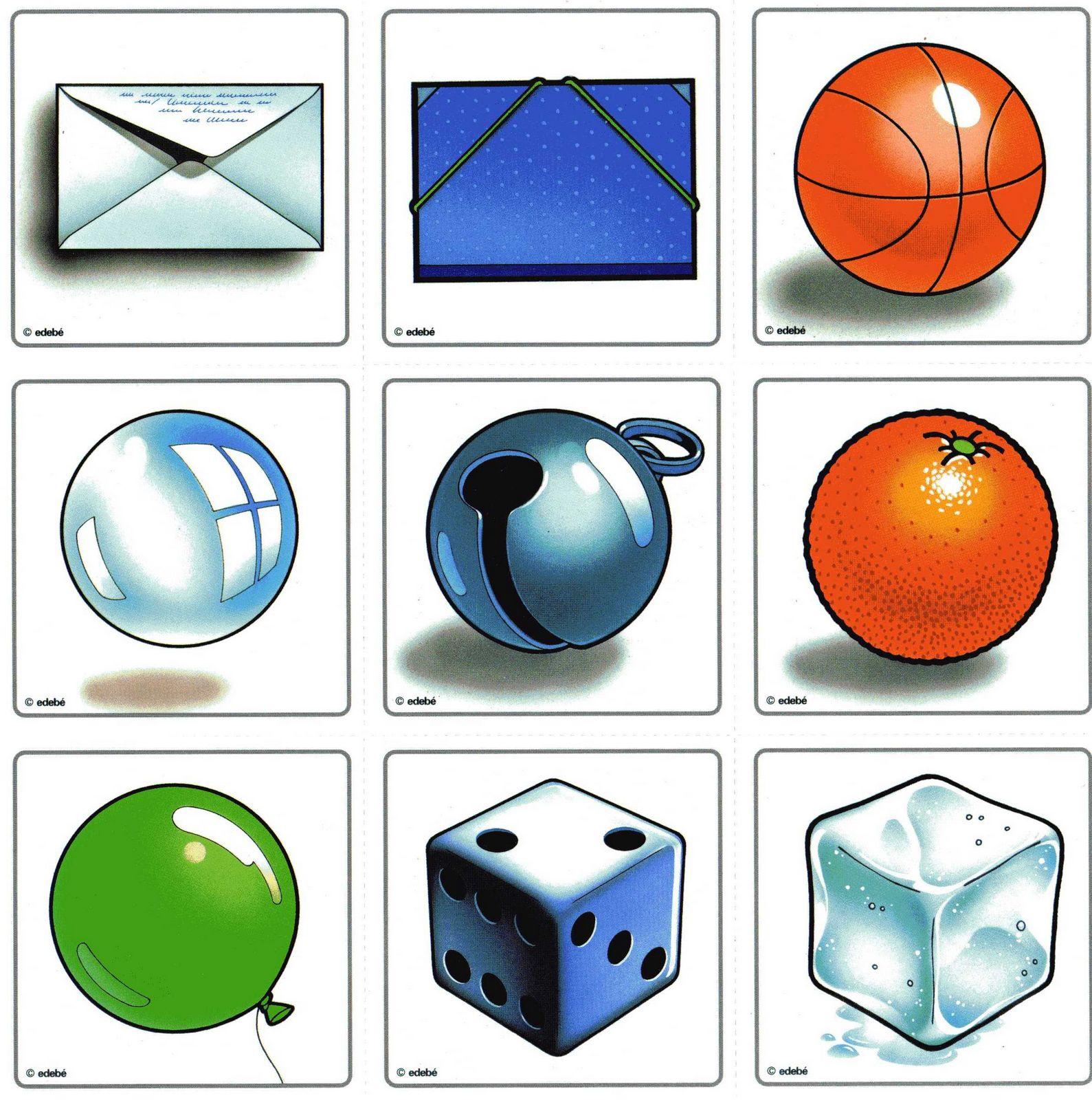 Autismus Arbeitsmaterial: Visuelle Wahrnehmung: Form-Konstanz