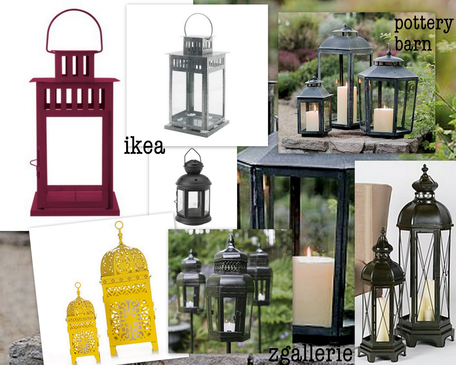 www.detailgal.com: Friday Finds...lantern lighting