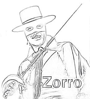 Coloriage Zorro Coloriage