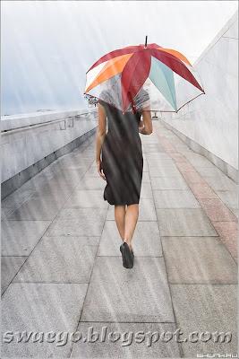 Создание дождя в Фотошопе