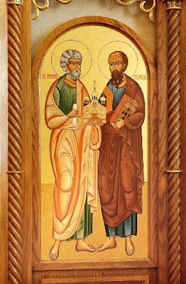 Blessed and Holy Solemnity of Sts Peter and Paul - 29 June
