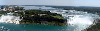 Waters at Niagara Falls Have Frozen (7 pics) |Niagara Falls Frozen 2009
