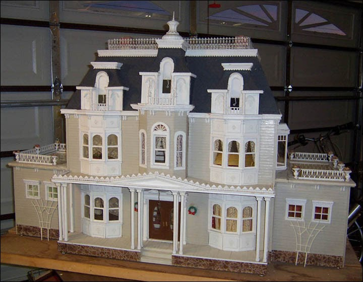 My Dream Dollhouse Victorian Manor By Genevieve Rindner