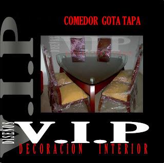 Muebles VIP Diseos y Decoracion Interior VIP Comedores