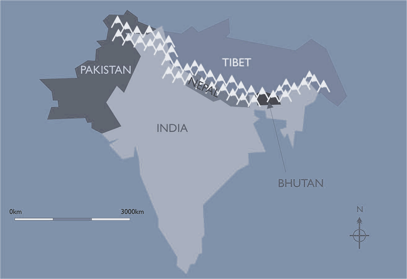 Himalayamapbluej on Where Is Kathmandu Nepal Located On The Map