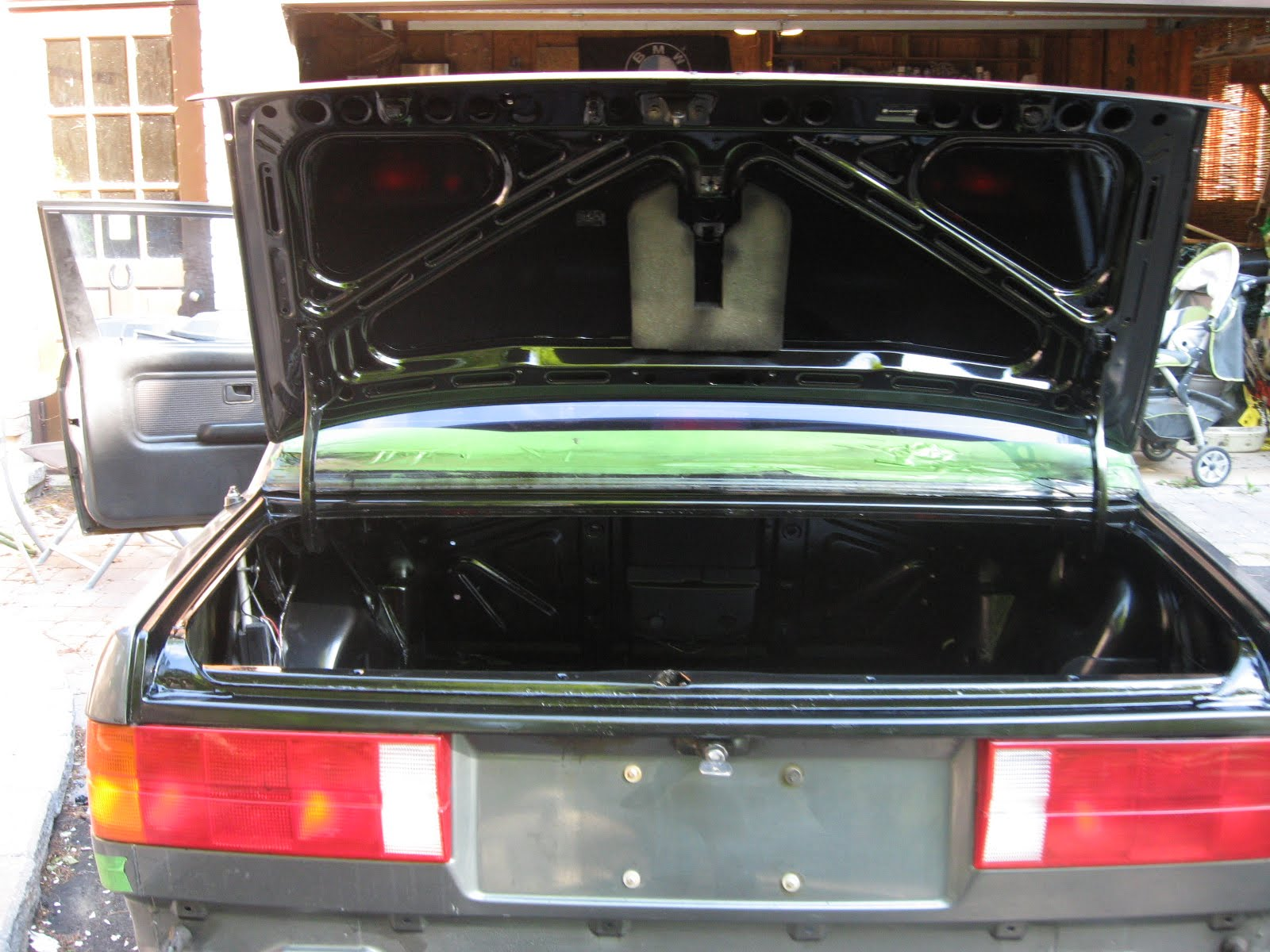 My Project 1987 Bmw 325is E30 Trunk Finished Ez Liner