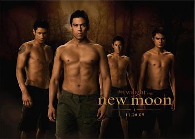 hombres lobo de luna nueva