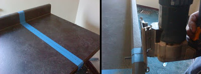 Tips For Cutting And Installing A Laminate Countertop Inspired Remodeling  Tile Bloomington Indiana Surrounding