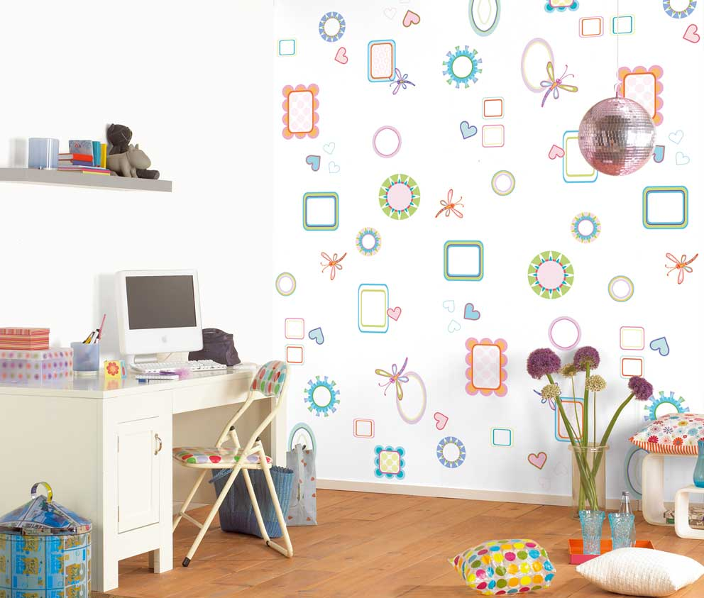 6 Lovely Wall Design Ideas For Kid S Roominterior Decorating Home Sweet