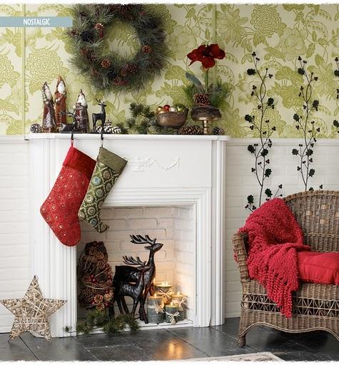 Nostalgic Christmas Decorations: House Furniture