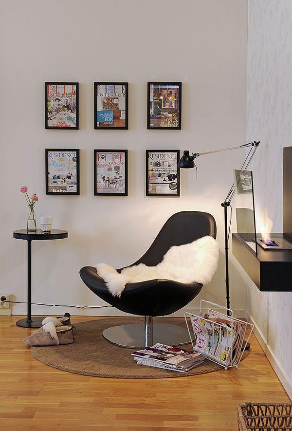 Stylish Reading Room Design Idea - Home Decorating Ideas