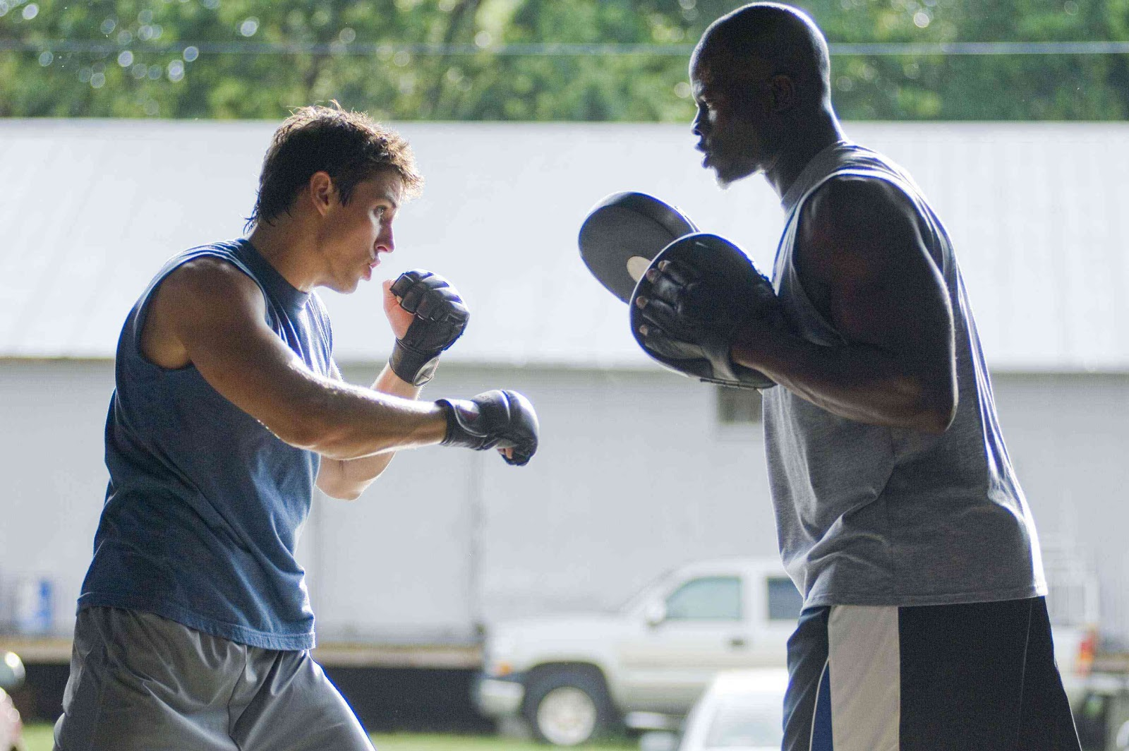 WORKOUT INSPIRATION .NET: Sean Faris Trains For Never Back ...