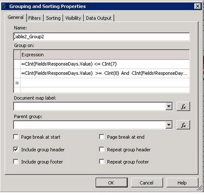 How to Create Group Expression on Table Column + SSRS | Techno Freak