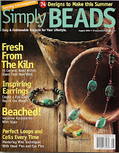 Liz Revit in Simply Beads August 2007