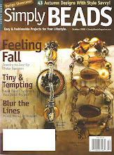 Liz Revit in Simply Beads October 2008