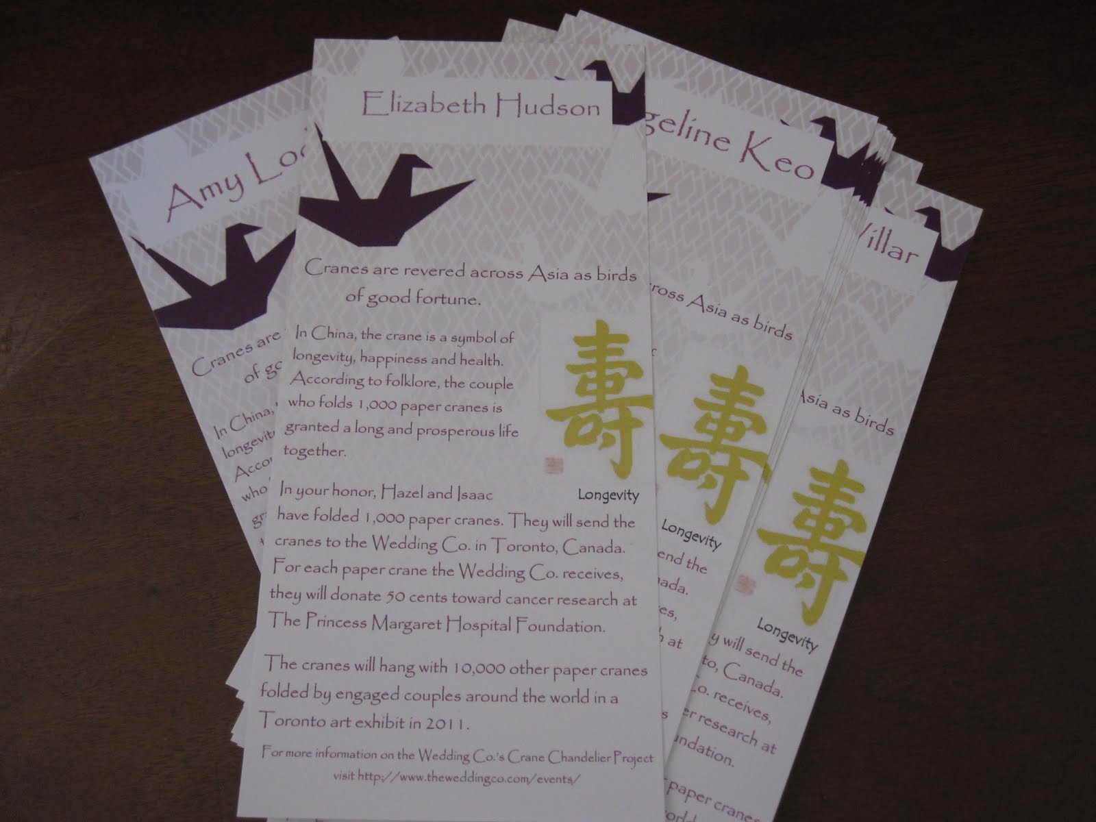 i do budget weddings sponsored post our donation placecards from