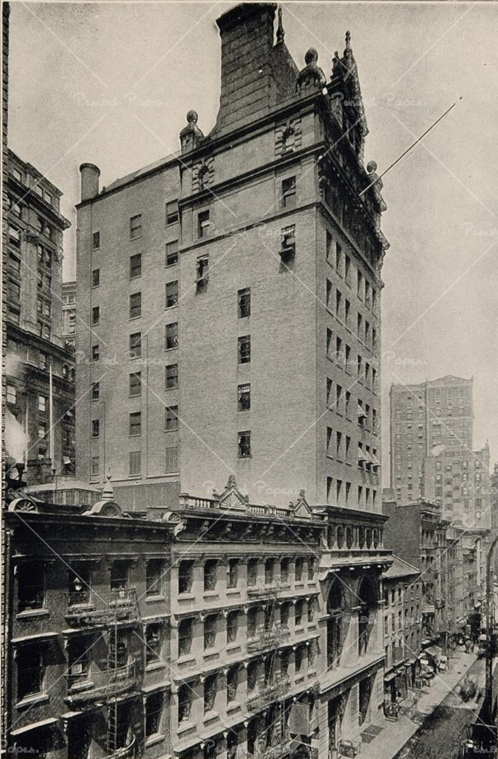 new york history geschichte lawyers title building. Black Bedroom Furniture Sets. Home Design Ideas