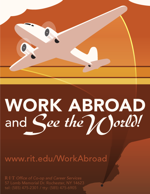 Work abroad and see the world!