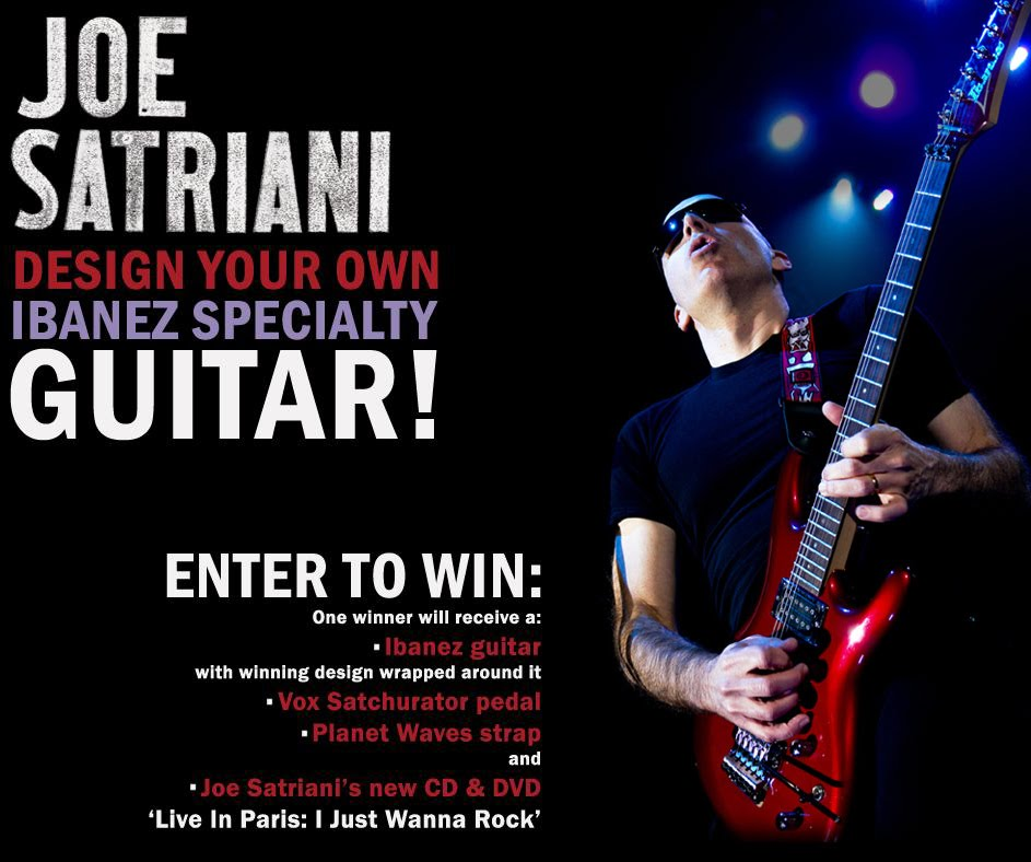 Joe Satriani Design