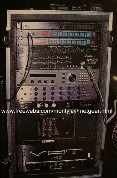 Kirk Hammetts Gear  Gearheads
