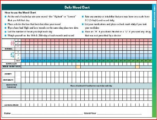 Switch your Brain the Positive Way Chapter 1 Mood Charting