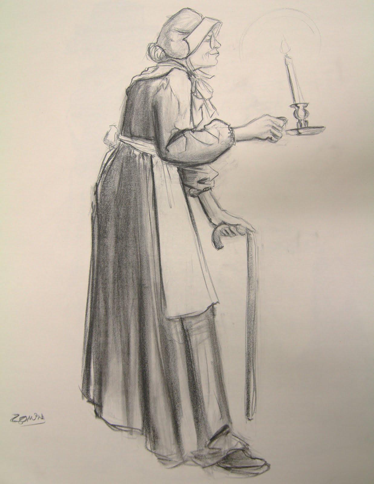Yamil Medina: More Clothe Figure Drawing poses.