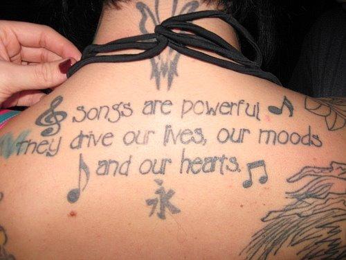 Gambar Tatto Keren di Bagian Tubuh Cewek - 16