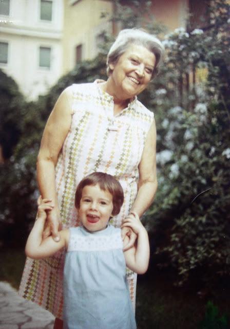 Nonna Titta and I, ca. 1970