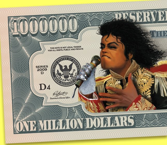 Esly's Sketch Blog: Million Dollar Bill Coming Out Soon
