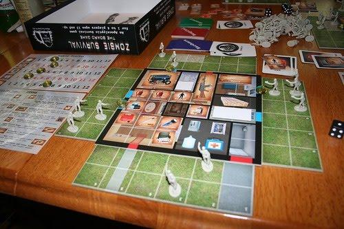 Los Amigos De Catan Juegos De Mesa Zombie Survival 1 4 Jugadores