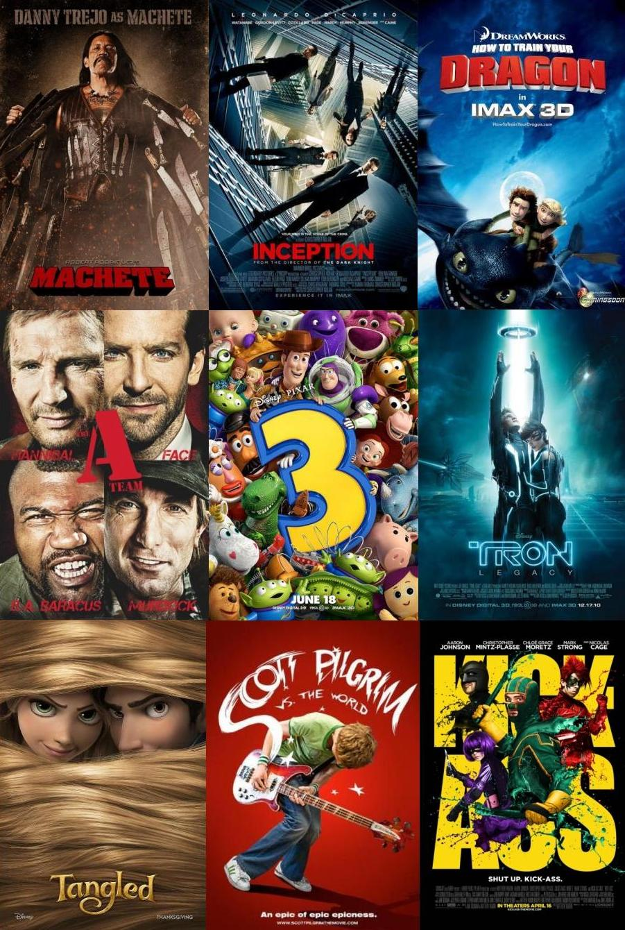 List of Top Films