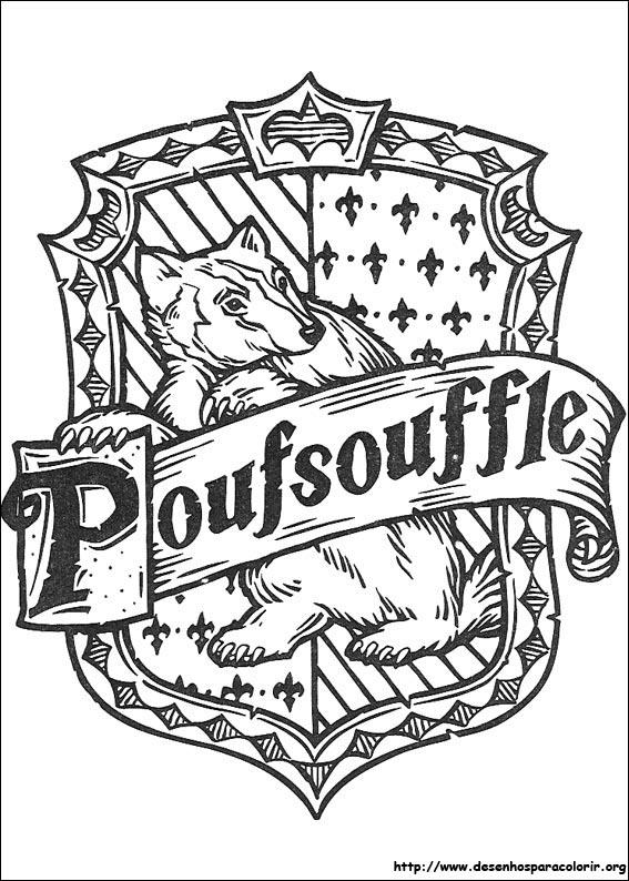 Pimentinh@s do Duque: Desenhos para colorir - Harry Potter