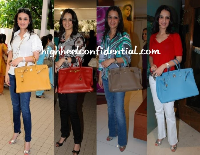 94e9850c66c Hermes lovers  Anu Dewan with her Hermes Birkin collection