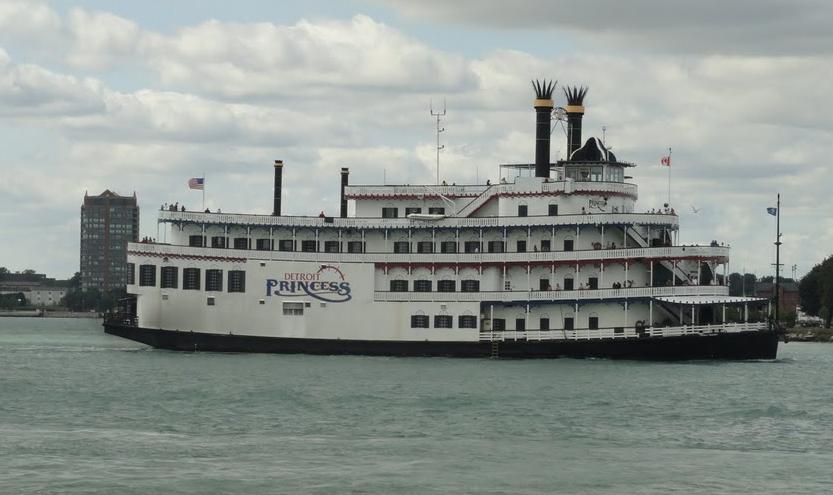 Michigan 1001 Daily Photo Detroit Princess Riverboat Cruise