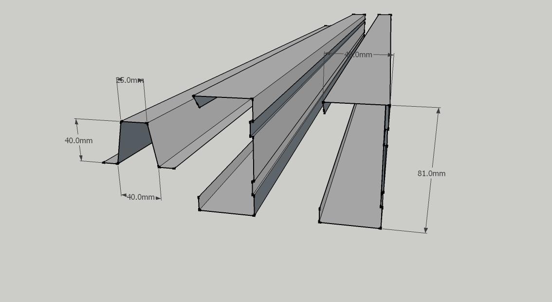 Gambar Baja Ringan Kanal C Konstruksi Ringan: Profil