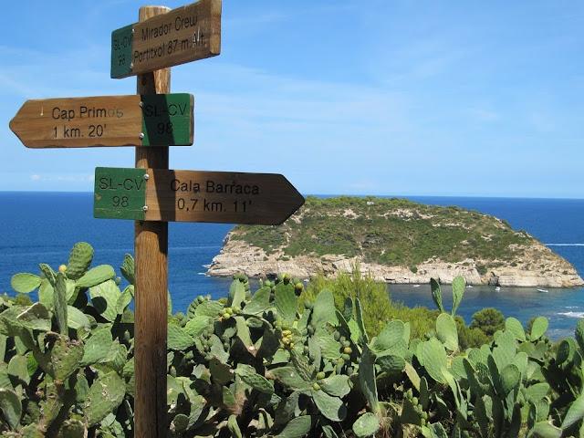 Sender Illa Portitxol Cala Barraca Xàbia