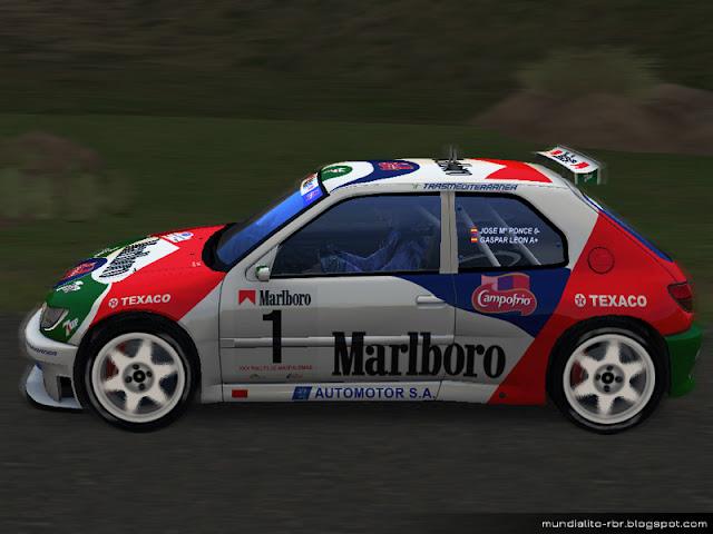 Peugeot 306 Maxi KitCar Maspalomas 1998