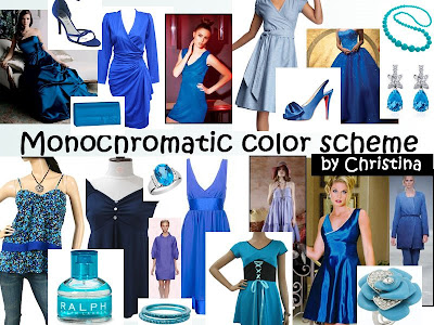 Here Is An Example Of Monochromatic Color Scheme