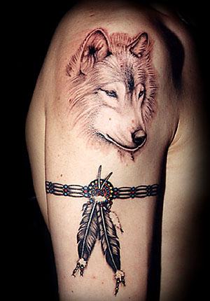 tatuajes de lobo dise os de tatuajes design tattoos. Black Bedroom Furniture Sets. Home Design Ideas