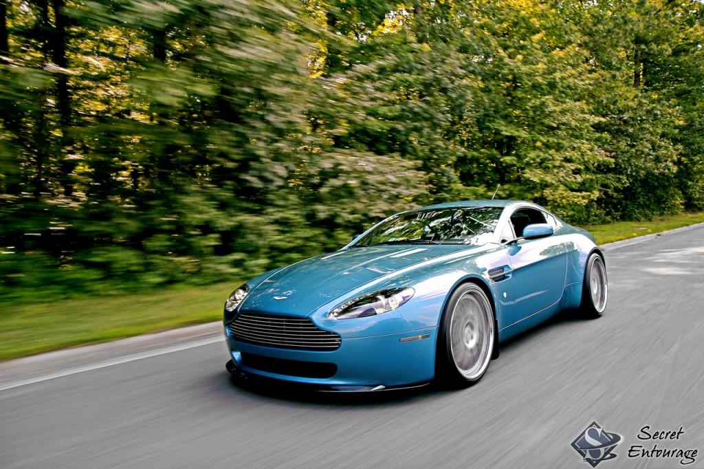 Cars Zonder Zone Aston Martin Vantage Por Secret Entourage