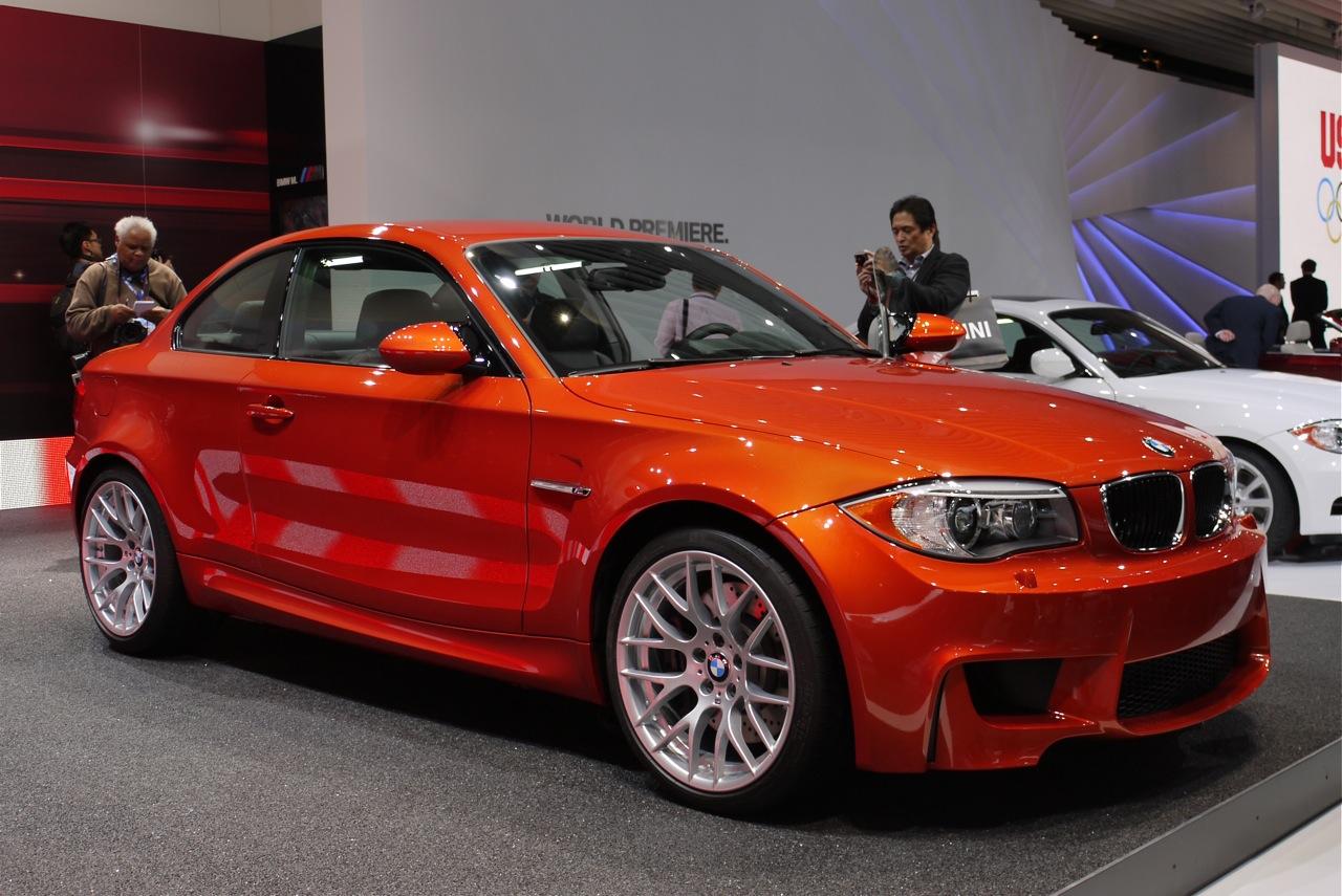 bmw serie 1 m coupe en detroit 2011. Black Bedroom Furniture Sets. Home Design Ideas