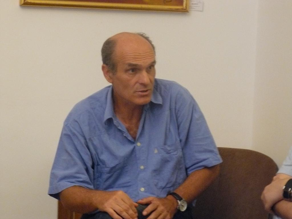 CTP discutând duios despre textul junei Raluca