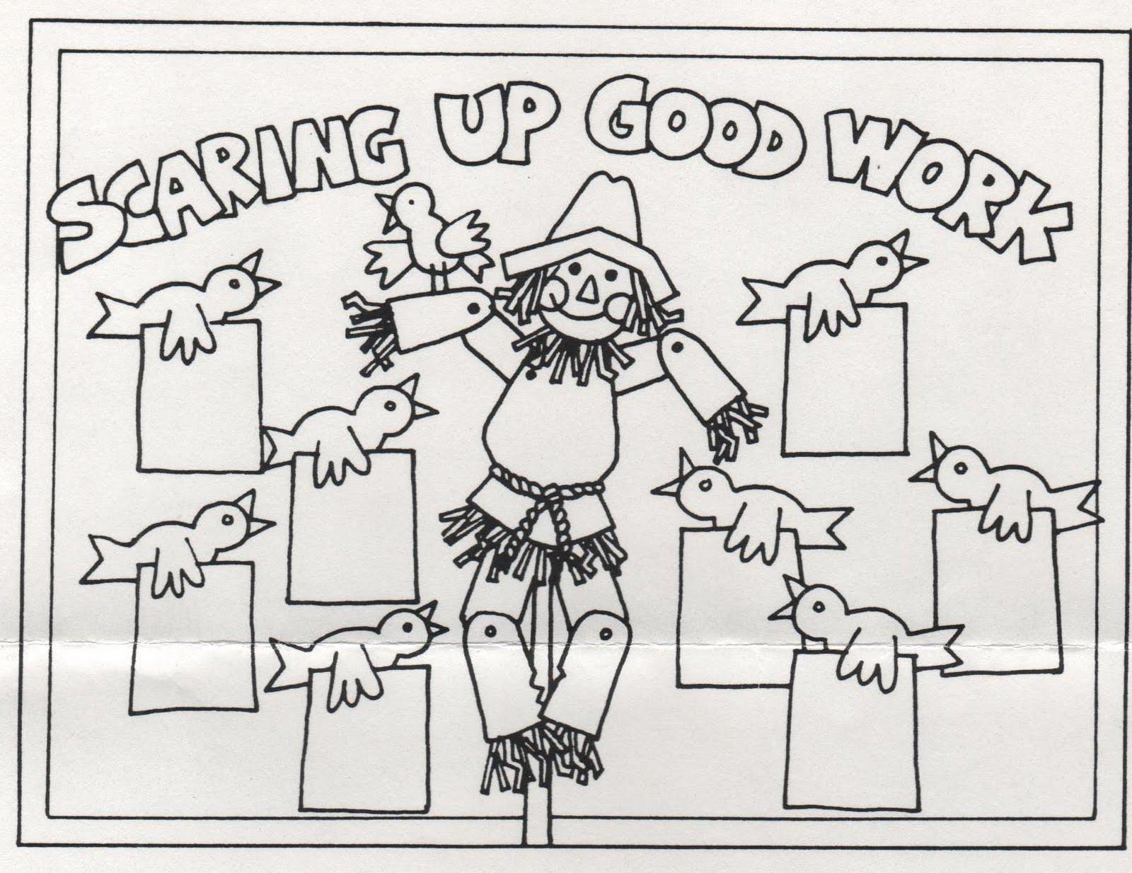 Elementary School Enrichment Activities Scarecrow